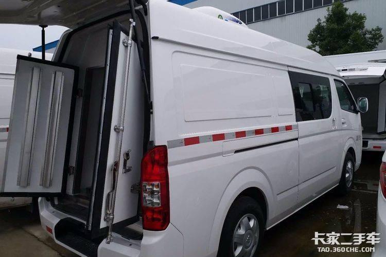 厂家直销 福田g7商务面包冷藏车