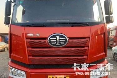 二手卡车牵引车 一汽束缚 420 马力