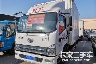 二手卡车载货车  一汽解放轻卡 130马力
