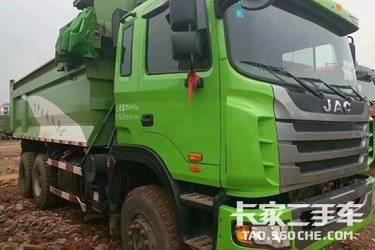 二手卡车自卸车 江淮格尔发 350马力