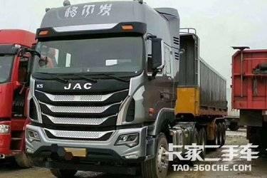 江淮 格尔发k5w重卡 310马力 4x2牵引车(hfc4181p1k5a35s3v)