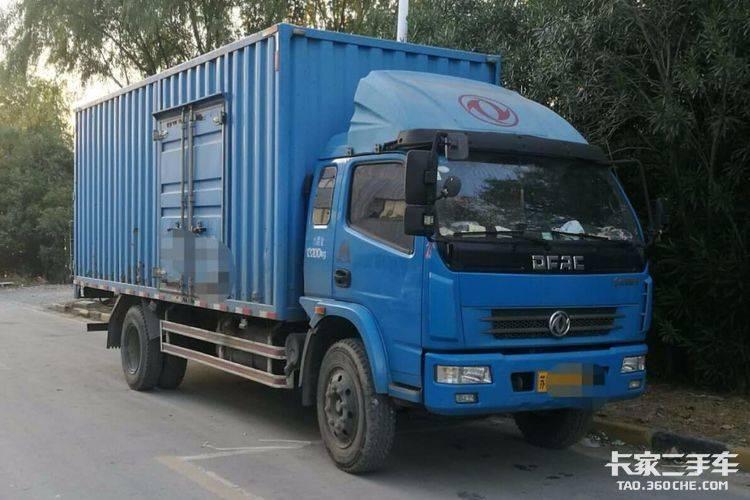 东风多利卡6.2米厢式货车图片