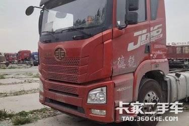 二手卡车二手车牵引车 青岛束缚 JH6 420马力