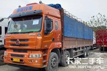二手载货车 东风柳汽乘龙 320马力图片