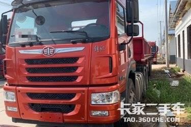 二手卡车牵引车 青岛解放 375 马力