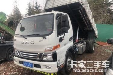 二手江淮工程车 骏铃G 170马力图片