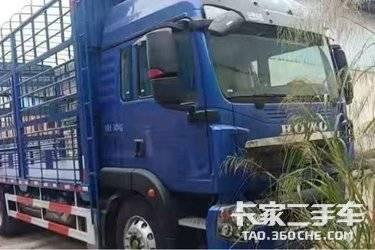 二手西西人体载货车 西西人体模特豪沃(HOWO) 240 马力
