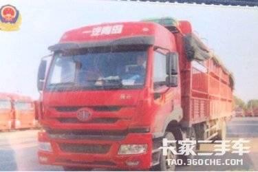 二手青岛解放 新悍威J5M 载货车 240马力