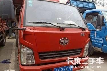 二手卡车自卸车 一汽红塔 120 马力