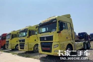 二手卡车牵引车 重汽汕德卡 430 马力