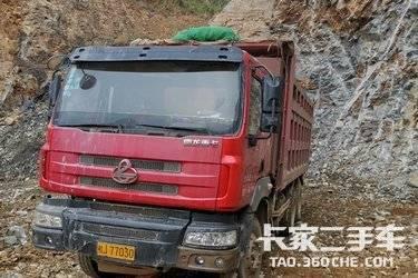 二手卡车自卸车 东风柳汽乘龙 340 马力