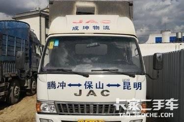二手载货车 江淮帅铃 160马力图片