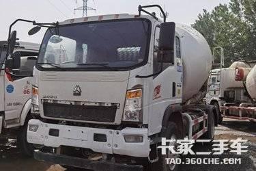 二手搅拌车 中国重汽 160马力图片