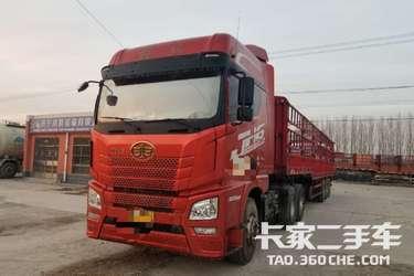 二手卡车二手牵引车 青岛解放 JH6 500马力 国5