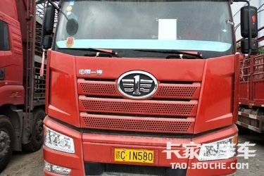 二手卡车载货车 一汽解放 420马力