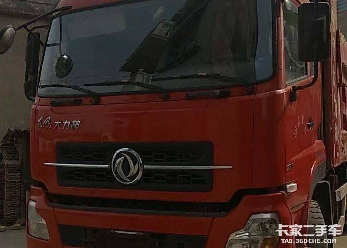 东风商用车 290马力 自卸车