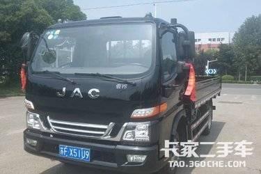 轻卡 江淮骏铃 V6 4.2米平板