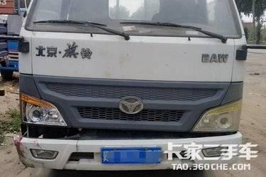 二手载货车 北京牌 156马力图片