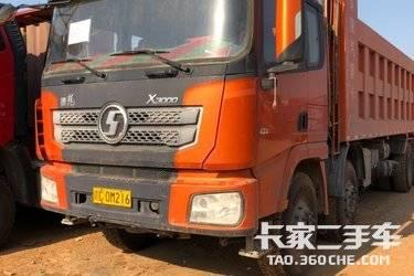 二手卡车自卸车  陕汽重卡 430马力