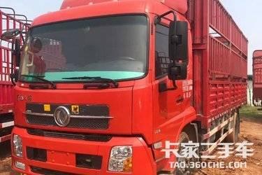二手卡车  东风天锦小单桥, 180马力,6.8米货箱,可提档过户,国四排放。