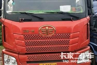 二手卡车载货车 青岛解放 400马力