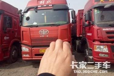 二手卡车16年11月解放j6350,双驱。一手车,车况精品,原车原版,13111104367微信同号