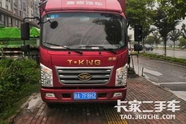 二手卡车载货车  唐骏汽车 146马力
