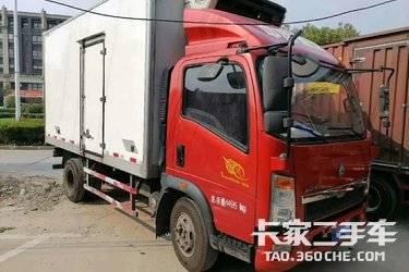 二手载货车 重汽豪沃(HOWO) 130马力图片