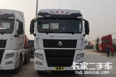 二手卡车二手重汽汕德卡540马力双驱轻体牵引车头支持分期
