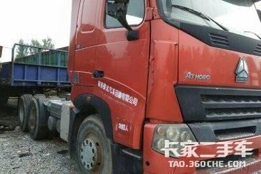 二手牵引车 中国重汽 图片