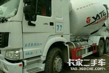 二手搅拌车 中国重汽 图片