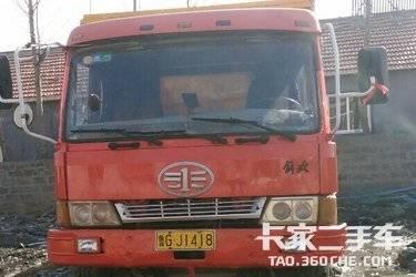 二手自卸车 济南重汽(绿叶牌) 图片