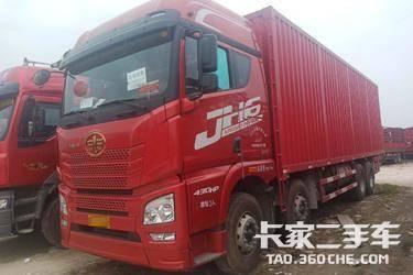 二手卡车载货车 青岛解放 430马力