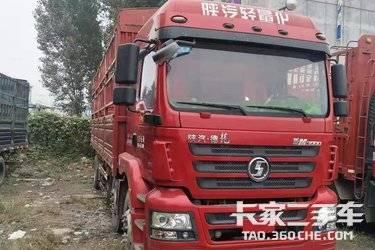 二手载货车 陕汽轻卡 245马力图片