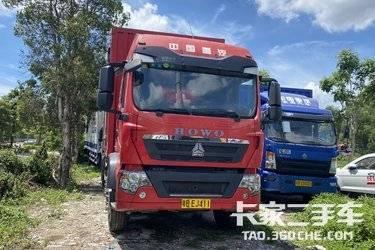 二手载货车 重汽汕德卡 350马力图片