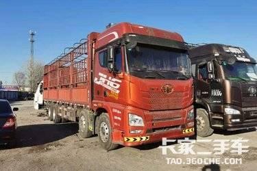 解放JH6前四后八9.6米高欄載貨車 420