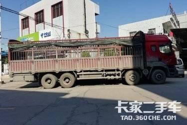 二手载货车 东风柳汽 340马力图片