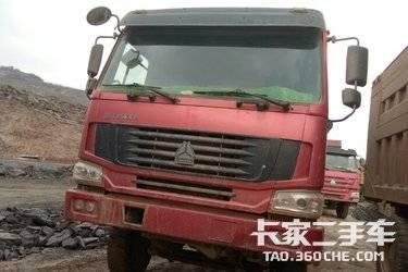 二手卡车自卸车  重汽豪沃(HOWO) 336马力
