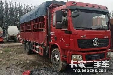 二手载货车 陕汽重卡 220马力图片