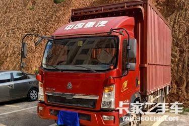 二手载货车 重汽豪沃(HOWO) 156马力图片