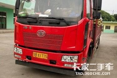 二手卡车载货车  一汽解放 180马力可以换7.6箱货