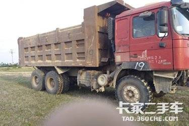 二手自卸车 陕汽重卡 336马力图片
