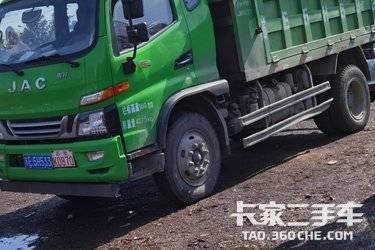 二手江淮工程车 骏铃G 160马力图片
