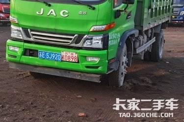 二手江淮工程车 骏铃G 130马力图片