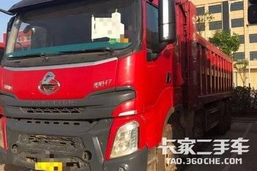 二手卡车自卸车 东风柳汽乘龙 350 马力