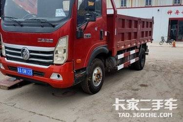 二手中国重汽成都商用车 瑞狮 160马力图片