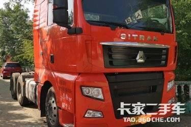 二手卡车牵引车  重汽汕德卡 440马力