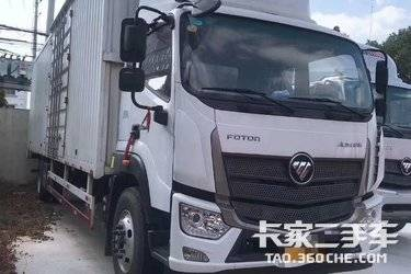 二手载货车 福田欧马可 210马力图片
