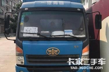 二手载货车 青岛解放 130马力图片