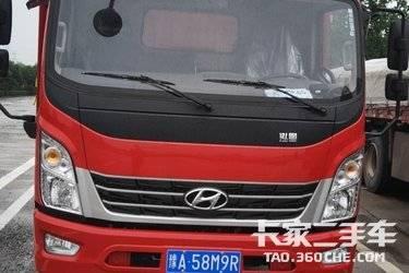 二手载货车 现代商用车 156马力图片